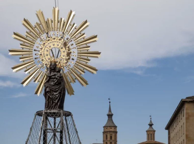 articulos religiosos virgen pilar